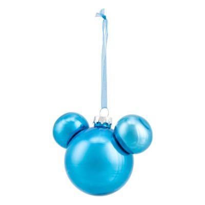 Disneyland Paris Boule Tête de Mickey bleue