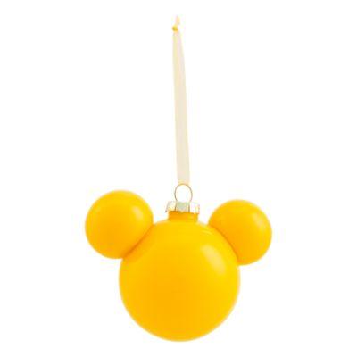 Disneyland Paris Boule Tête de Mickey jaune