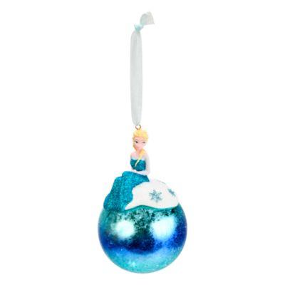 Disneyland Paris Décoration Elsa bleue à suspendre