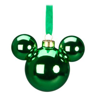 Disneyland Paris Boule Tête de Mickey verte
