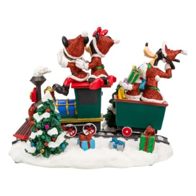 Disneyland Paris Mickey and Friends Christmas Train Figurine