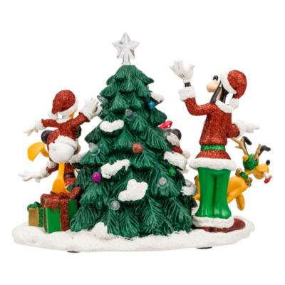 Disneyland Paris Mickey and Friends Christmas Tree Light-Up Figurine