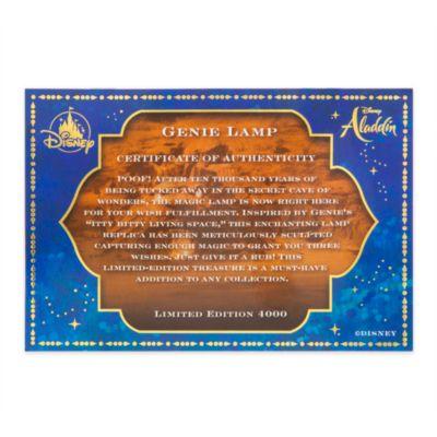 Disney Store Lampe du Génie en édition limitée, Aladdin