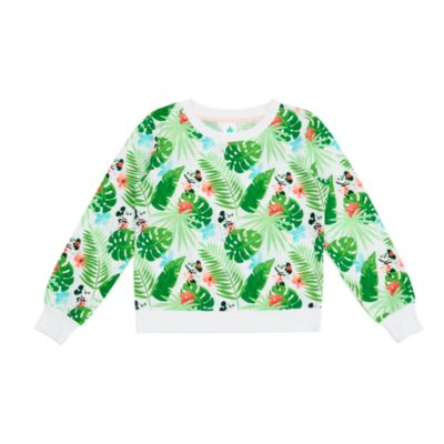 Disney Store Mickey and Minnie Tropical Hideaway Long Sleeve Top For Adults