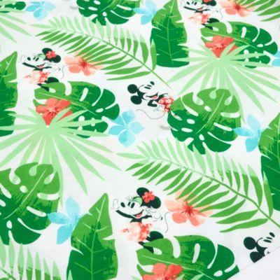 Disney Store Haut à Manches Longues Mickey et Minnie Tropical Hideaway pour adultes