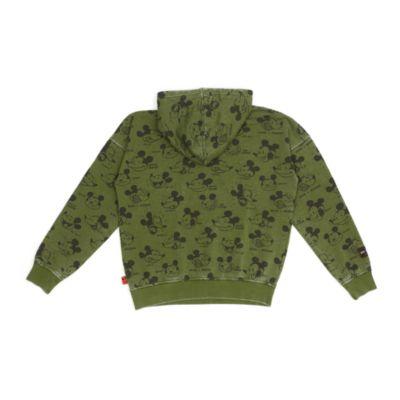 Disney Store Sweatshirt Mickey à capuche pour adultes, collection Disney Artist