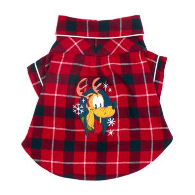 Disney Store Chemise de Noël Pluto pour animaux