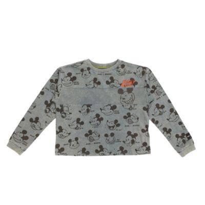 Camiseta manga larga Mickey Mouse para adultos, serie Disney Artist, Disney Store