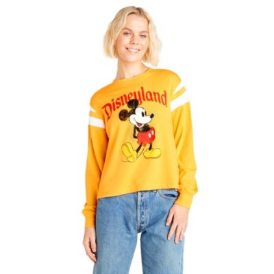 Disneyland T-shirt Mickey jaune pour femmes