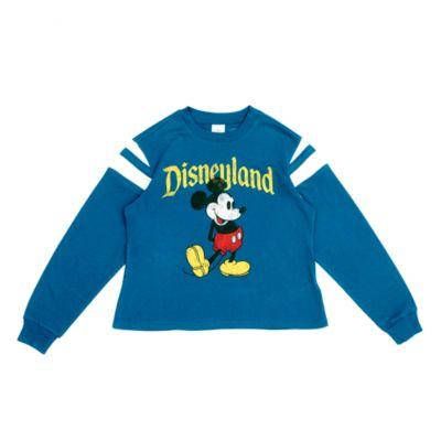 Disneyland Mickey Mouse Blue Ladies' Sweatshirt