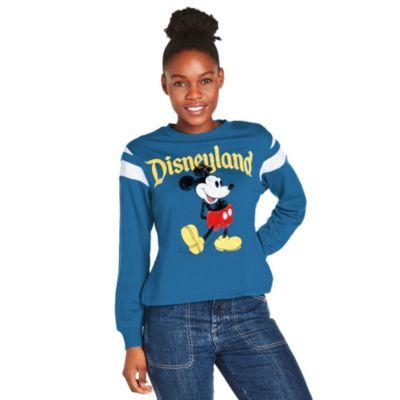 Disneyland sudadera azul Mickey Mouse para mujer