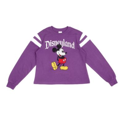 Disneyland T-shirt Mickey violet pour femmes