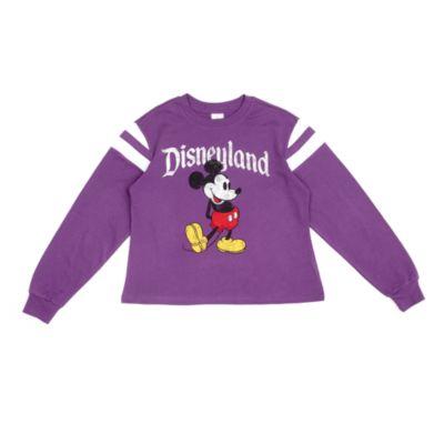 Disneyland - Micky Maus - Lila Sweatshirt für Damen
