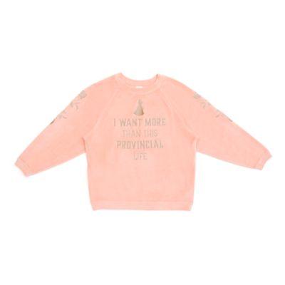 Disney Store Sweatshirt Belle pour adultes, La Belle et la Bête