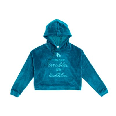 Disney Store The Little Mermaid Ladies' Hooded Sweatshirt