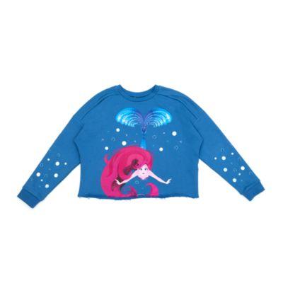 Disney Store The Little Mermaid Ladies' Sweatshirt