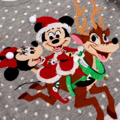 Disney Store Pull de Noël Mickey et Minnie pour adultes