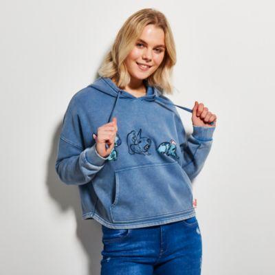 Disney Store Sweatshirt à capuche Stitch pour femmes
