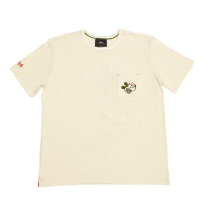 Camiseta con bolsillo Mickey Mouse para adultos, serie Disney Artist, Disney Store