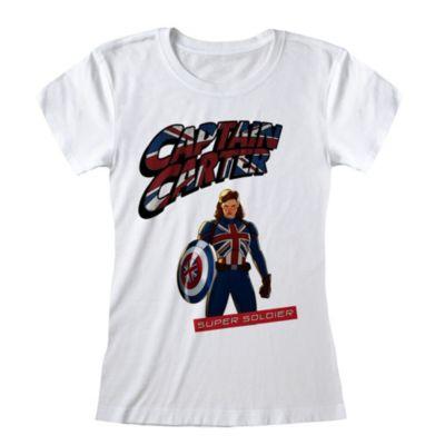 Camiseta para mujer Capitana Carter, What If...?
