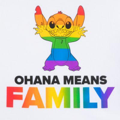 Disney Store T-shirt Stitch pour adultes, Rainbow Disney