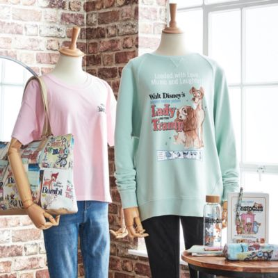 Disney Store Disney Classics Film Posters Clothing and Stationery Collection For Adults