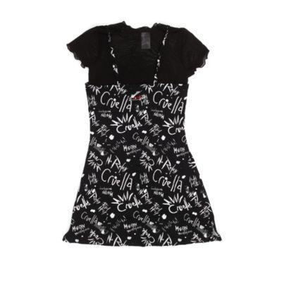 Disney Store Ensemble t-shirt et robe Cruella pour adultes