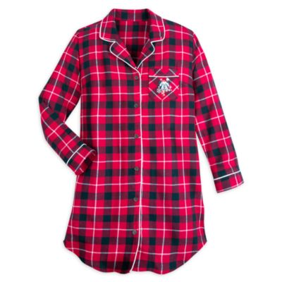 Disney Store Minnie Mouse Nightshirt For Adults
