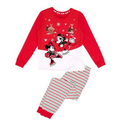 Disney Store Mickey and Minnie Ladies' Pyjamas