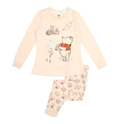 Disney Store Winnie the Pooh and Friends Organic Cotton Pyjamas For Adults
