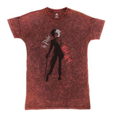 Disney Store Cruella Ladies' Red Lounge Shirt