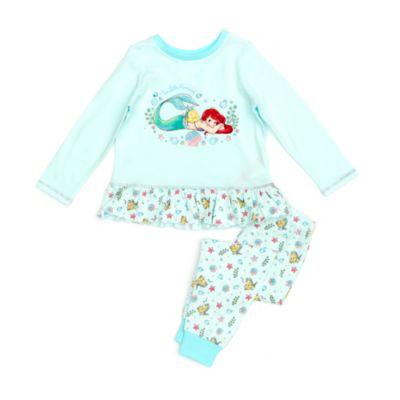 Disney Store The Little Mermaid Organic Cotton Pyjamas For Kids