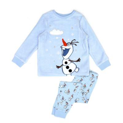 Disney Store Pyjama Olaf molletonné pour enfants, La Reine des Neiges