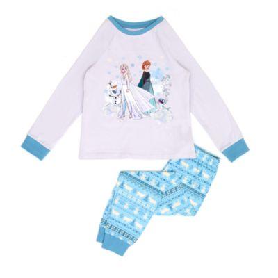 Disney Store Pyjama La Reine des Neiges2 en coton biologique pour enfants