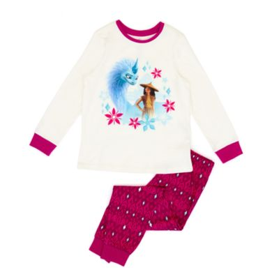 Disney Store Pyjama Raya et le Dernier Dragon en coton bio pour enfants