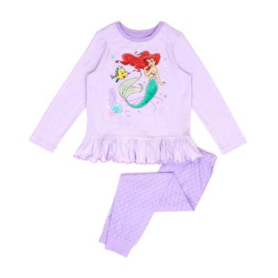 Pijama infantil de algodón ecológico La Sirenita, Disney Store