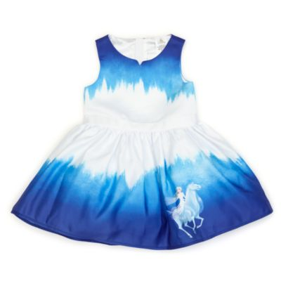 Vestido infantil Elsa, Frozen: El Reino de Hielo, Disney Store