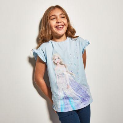 Disney Store Elsa the Snow Queen T-Shirt For Kids, Frozen 2