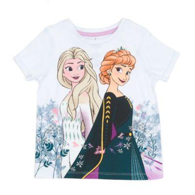 Disney Store T-shirt Anna et Elsa pour enfants, La Reine des Neiges2