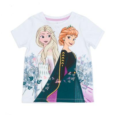 Disney Store - Die Eiskönigin 2 - Anna und Elsa - T-Shirt für Kinder