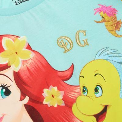 Disney Store The Little Mermaid Pastel T-Shirt For Kids