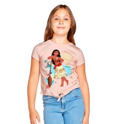Camiseta infantil con nudo delantero Vaiana, Disney Store