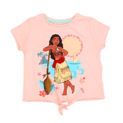 Maglietta bimbi annodata sul davanti Vaiana Disney Store