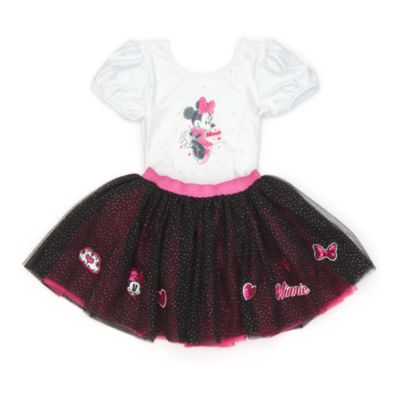 Disney Store Minnie Mouse Leotard With Tutu For Kids