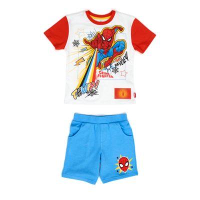 Disney Store - Spider-Man - Set aus T-Shirt und Shorts für Kinder