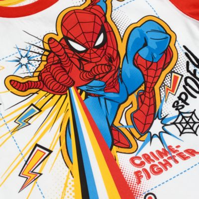 Disney Store Spider-Man T-shirt and Shorts Set For Kids