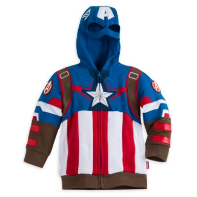 Disney Store Sweat à capuche costume de Captain America pour enfants