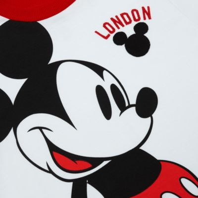 Disney Store Mickey Mouse London White T-Shirt For Kids