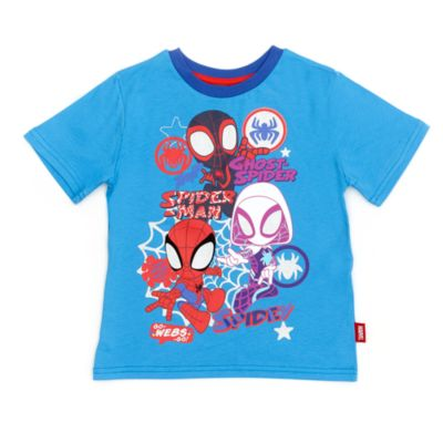 Disney Store Spider-Man and Friends T-Shirt For Kids