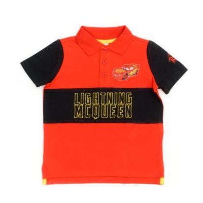 Disney Store Lightning McQueen Polo Shirt For Kids